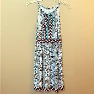Pattered sun dress